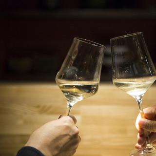 シャンパン&ワインが自慢です【GW期間は日本酒もお得です】
