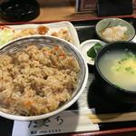 たきち - とりめし定食 900円