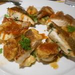 ハリ ハリ - 真鯛と白子のオーブン焼き