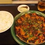 4504542 - 麻婆豆腐定食 850円