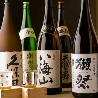 【中目黒×地酒】豊富な地酒を取り揃えております