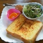 珈琲まさみ - アーモンドトースト