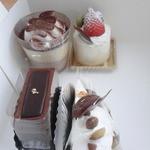 旭堂尾形菓子店 - 料理写真:ケーキ