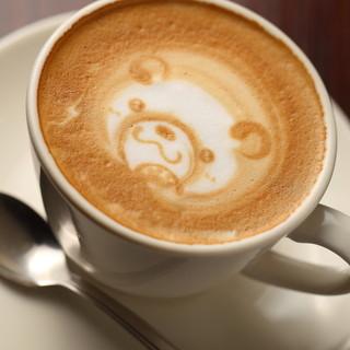 香り引き立つ珈琲、紅茶