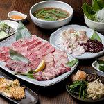 青山焼肉道場 - お肉からホルモン、サイドメニューまで充実のコース料理