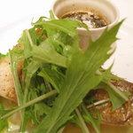 Osteria UVA RARA 横浜 - 真鯛の炭火焼バターソース