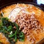 一松家 - 豚骨坦々麺 ¥741税抜き