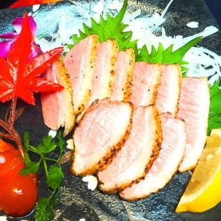 ととどり - 鴨肉のタタキ