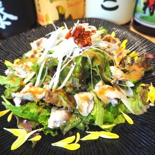 ととどり - 鶏ハラミのバンバンジーサラダ