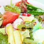 レストラン花咲 - 夏季限定 まるでサラダのようなうどん 780円