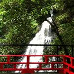 桂川 - 部屋から滝が見えます。絶景。