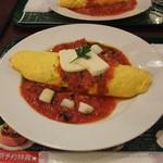 66カフェ - モッツァレラチーズとポテトのジェノベーゼ