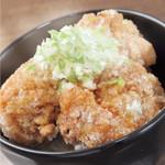 麺侍どらぁご - から揚げ丼