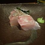 四季菜・炭火Dining 樂 - 鮮魚の刺身2点盛り