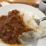 アンダーバー - 豆カレーのアップ