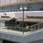 タリーズコーヒー - ペデストリアンデッキ側の入口