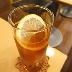 カフェ ボナフェ - アイスレモンティー