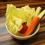 ちゃりん坊 - 新鮮野菜盛り合わせ