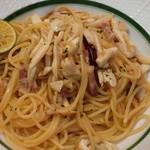 ランコントル - 秋限定の松茸ペペロンチーノ
