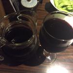 ぴかり魚 - ワイン