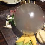 ぴかり魚 - チーズ盛り合わせ