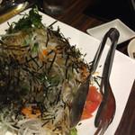 ぴかり魚 - 大根サラダ