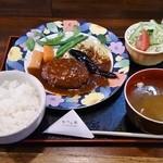 かきの木 - 料理写真:ハンバーグ(本日の日替り)800円