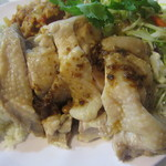 45078177 - 海南鶏飯の湯で鶏