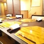 肉懐石 紬 - 2階の椅子座敷