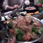 かき小屋 - サラダ