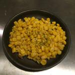 お好み焼き たけしゃん - バターコーン(280円)