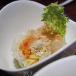 タイレストラン Smile Thailand - カオソーイ・ガイのランチセット