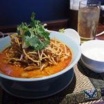 タイレストラン Smile Thailand - カオソーイ・ガイのランチセット(¥980)