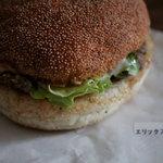 エリックス・ハンバーガーショップ - エリックスバーガー 290円