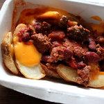 エリックス・ハンバーガーショップ - メキシカンチーズポテト 390円