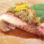 和旬菜 せつだ - 料理写真:チカメキントキの塩焼き