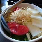 道とん堀 - もち明太子チーズ(918円)