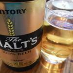 又一順 - サントリーモルツ瓶ビール