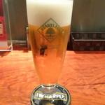 イタリアン居酒屋 にんたま屋台 - 生ビール・ハートランド(2015年11月来店)