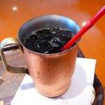 上島珈琲店  - 【アイスコーヒー(Mサイズ)…380円】2010/7