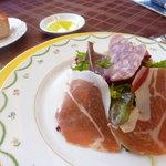 ア・ラ・プラージュ - パルマ生ハムのサラダ