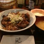 おいどん - 黒豚炭焼き丼900円