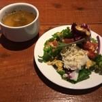 クレバーカフェ - スープ&サラダ