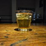 海賊船 - ドリンクバーでリンゴジュースをお代わり