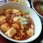 明蝦 - マーボー豆腐セット