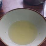 八重食堂 - 透明なスープ
