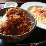 4510521 - ランチ★ミニ丼ぶり+麺類セット 720円