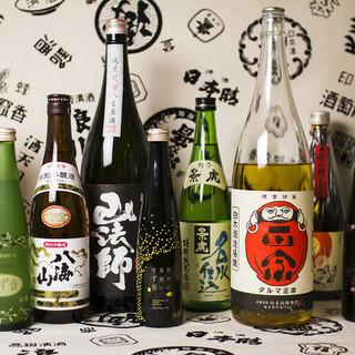 ~約40種類(獺祭や八海山など)日本酒が飲み放題