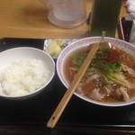 Kadoyashokudou - 鴨中華そば ご飯(小)¥150