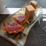 ノガラッツァ - ランチコース 小菓子